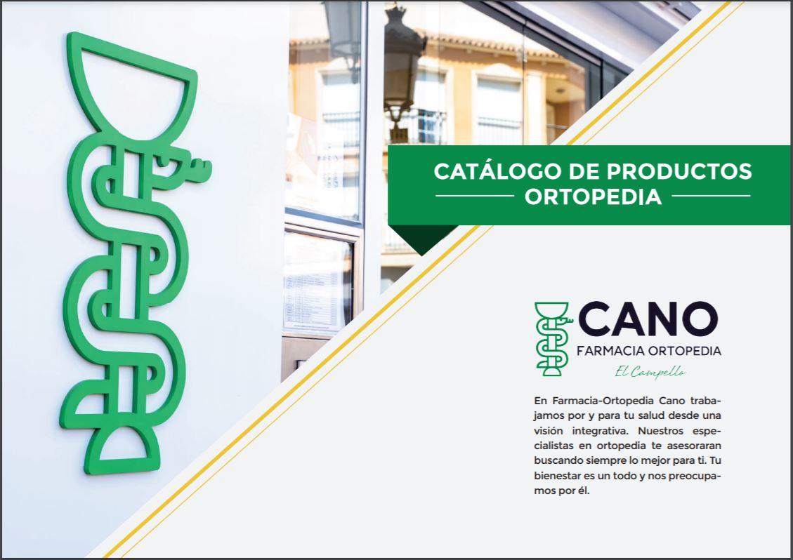 Catálogo de productos Ortopedia Cano